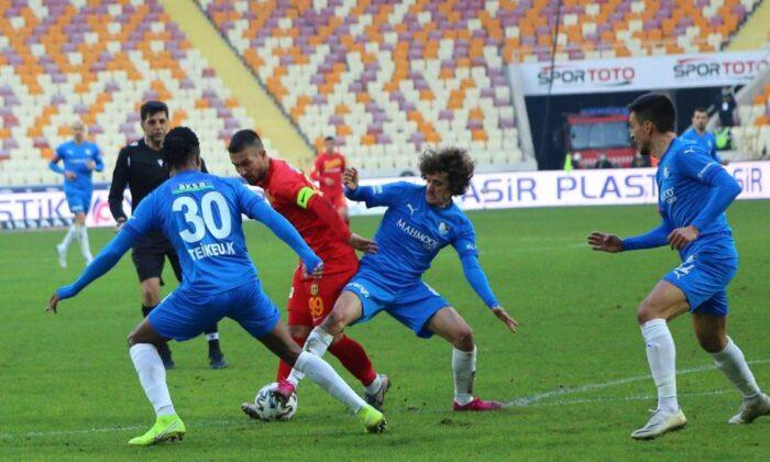 Maç sonucu: Yeni Malatyaspor 1-3 Erzurumspor