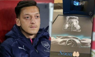 Mesut Özil'in 27 milyon TL'lik yeni oyuncağı