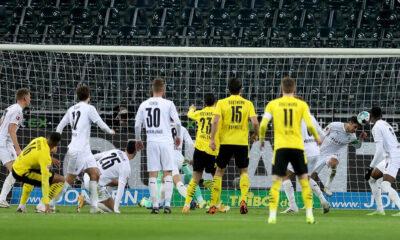 Mönchengladbach'tan, Borussia Dortmund'a 4 gol