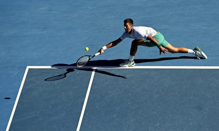 3,5 saat süren maçı Djokovic kazandı