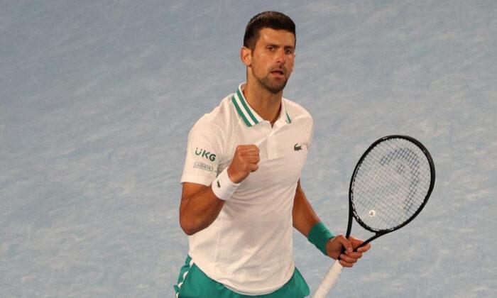 Djokovic, Avustralya Açık'ta çeyrek finalde