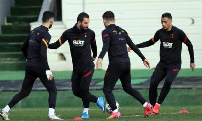 Galatasaray, Alanyaspor'a hazır