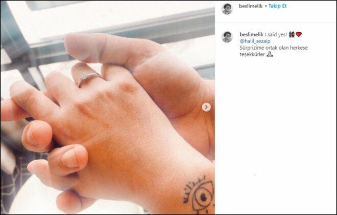 Halil Sezai ile Melike Beşli evleniyor