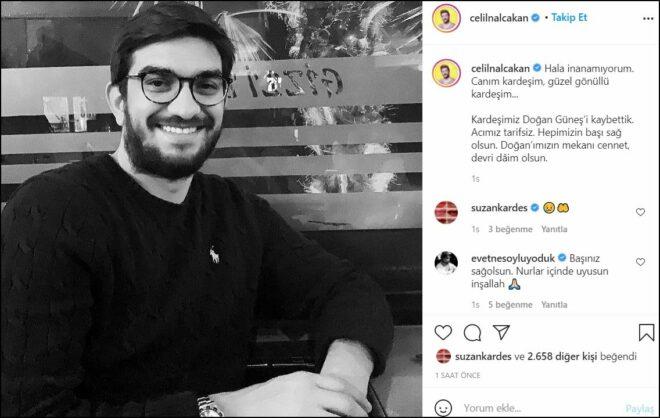 Oyuncu Celil Nalçakan ölüm haberiyle yıkıldı