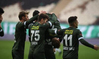 Bursaspor'a hayat veren geri dönüş