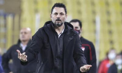 """Fenerbahçe'de Erol Bulut maç sonu sitem etti! """"Çizgiler bize farklı rakiplere farklı…"""""""