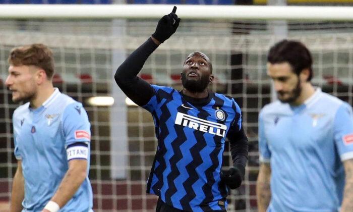 Inter, Lazio'yu devirdi liderliğe yükseldi