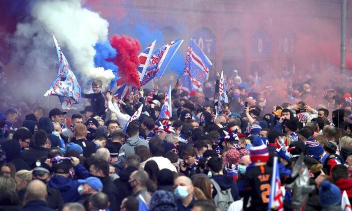 "İskoçya'da şampiyon Rangers'a ""pandemi"" tepkisi"
