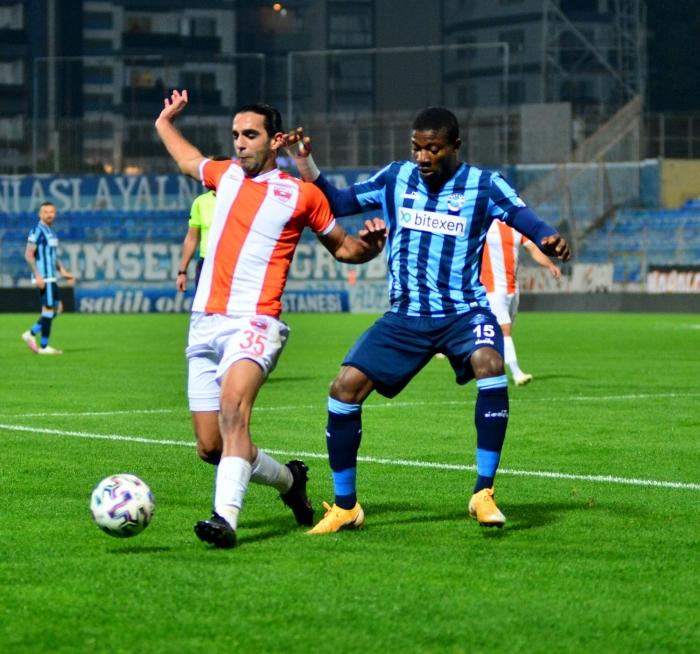 Maç sonucu: Adanaspor 2-2 Adana Demirspor