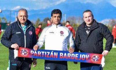 Partizan Bardejov'da Memiş Özata fırtınası