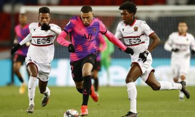 PSG, Nice'i yendi liderliğe yükseldi
