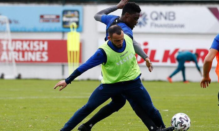 Trabzonspor'da Berat Özdemir sevinci
