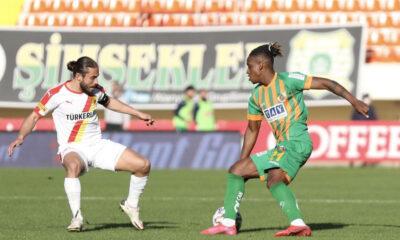 Alanyaspor – Göztepe maçında kazanan çıkmadı! 1-1