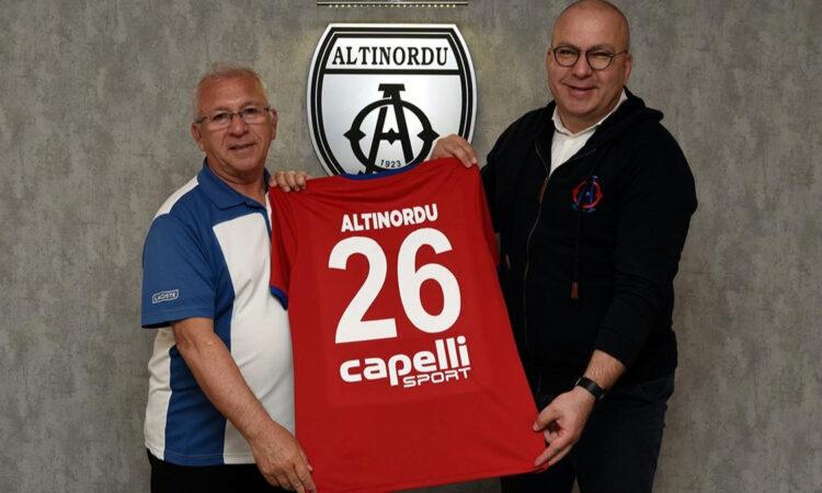 Altınordu'ya 5 yıllık forma sponsoru