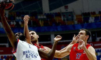 Anadolu Efes, CSKA Moskova'yı konuk edecek