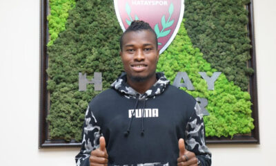 Atakaş Hataysporlu Youssouf Kone'ye 2 maç men