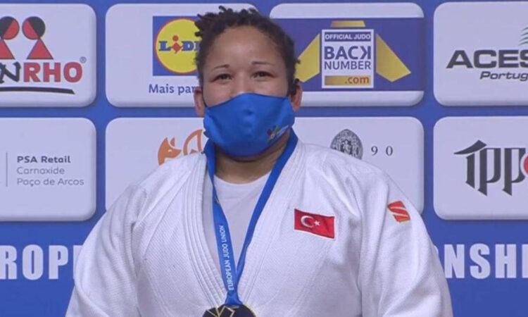 Büyükler Judo Avrupa Şampiyonası'nda Kayra Sayit şampiyon oldu