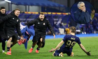 Dinamo Zagreb'den Tottenham karşısında tarihi geri dönüş! Jose Mourinho….