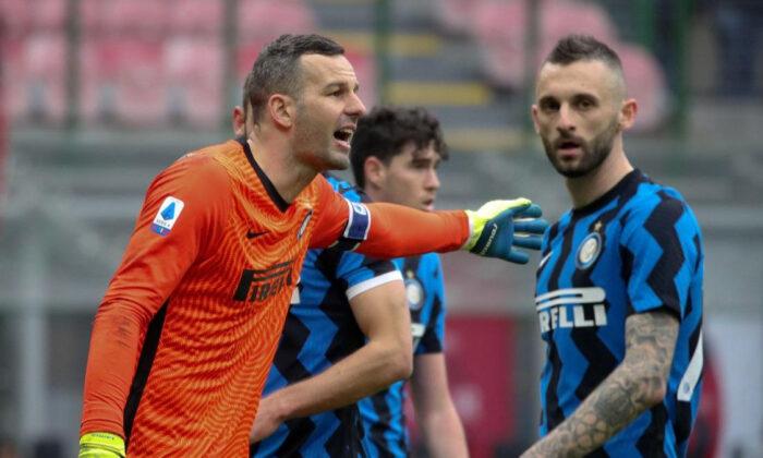 Inter'de kaleci Handanovic koronavirüse yakalandı
