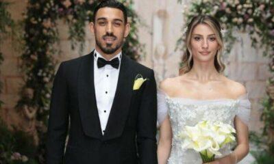 İrfan Can Kahveci ve Gözde Doyran'ın düğününden kareler