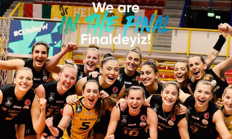 Kadınlar CEV Şampiyonlar Ligi'nde VakıfBank finale yükseldi