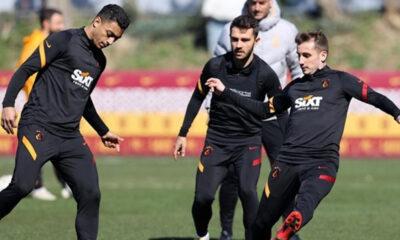 Lider Galatasaray, Sivasspor hazırlıklarına başladı