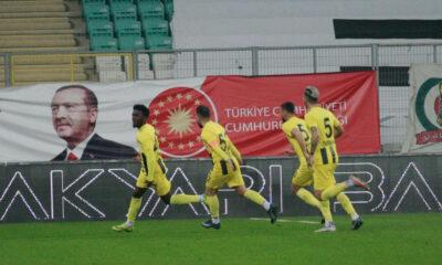 Maç sonucu: Bursaspor 0-1 Menemenspor