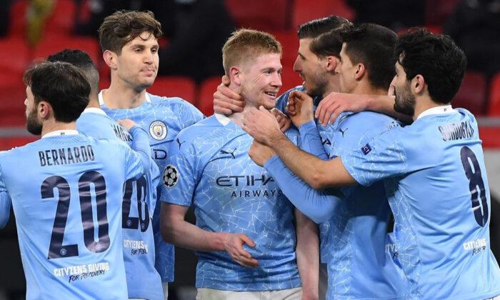 Manchester City, Mönchengladbach engelini rahat aştı ve çeyrek finale yükseldi