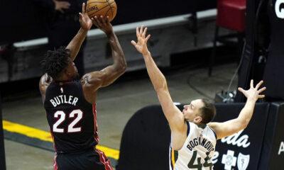 Miami Heat, Utah Jazz'ı durdurdu