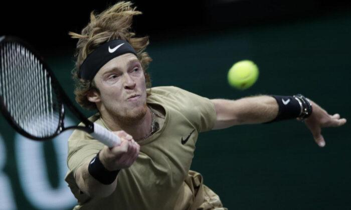Rus tenisçi Andrey Rublev tarihe geçti! Tek maça çıkmadan yarı finale kaldı