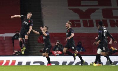 Slavia Prag, Arsenal deplasmanında 90+4'te avantajı yakaladı