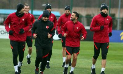 Türkiye, Norveç maçı hazırlıklarına başladı