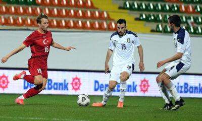 Ümit Milli Takım, Sırbistan karşısında tek golle kaybetti