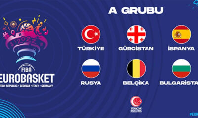 A Milli Takım'ın EuroBasket 2022'deki rakipleri belli oldu