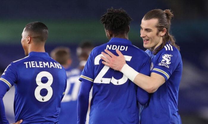 Leicester City, Crystal Palace'ı devirdi! 2 gol…