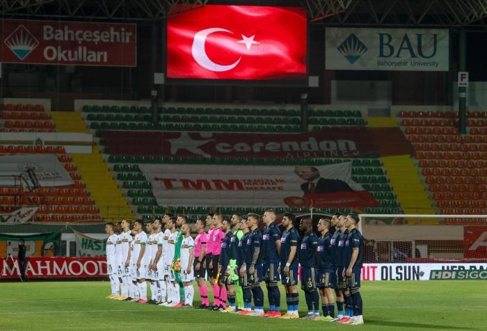 Maç sonucu: Alanyaspor 0-0 Fenerbahçe
