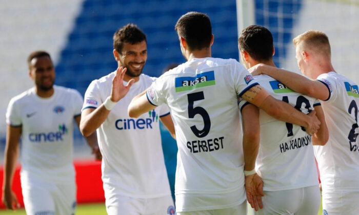 Maç sonucu: Kasımpaşa 3-0 Alanyaspor